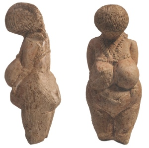Pregnant woman from Kostienki. - aprox. 26.000 a 22.000 anos