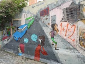 Street art - Vila Madalena, São Paulo, Brasil.