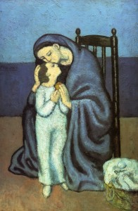 Pablo PIcasso - Motherhood - 1901