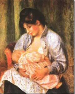 Mère et enfant - Pierre-Auguste Renoir - 1892